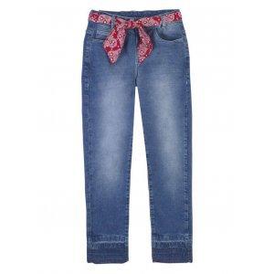 Calça Jeans Feminina Super Skinny Com Cinto