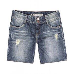 Bermuda Feminina Hering Em Jeans