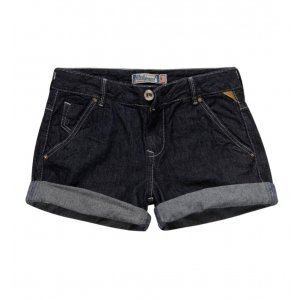 Bermuda Feminina Jeans Bolso Faca