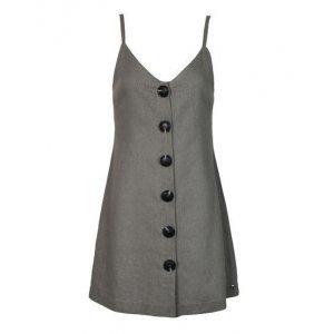 Vestido Linho Grey