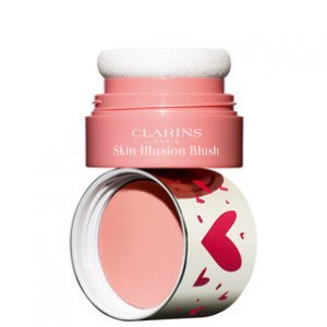 Blush Cintilante Clarins Skin Illusion 02 Luminous Coral 4,5G