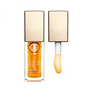 Hidratante Labial Clarins Instant Light Lip Comfort Oil 01 Honey 7Ml