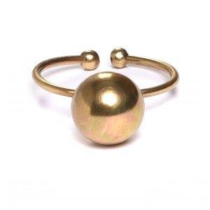 Anel Esfera G Ouro Velho Tamanho:  U - Cor:  Ouro Velho