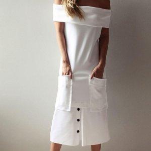 Vestido Cuca Tamanho: 44 - Cor: Off White