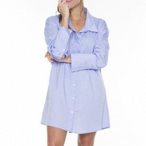 Maxi Camisa Blue