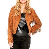jaqueta marrom