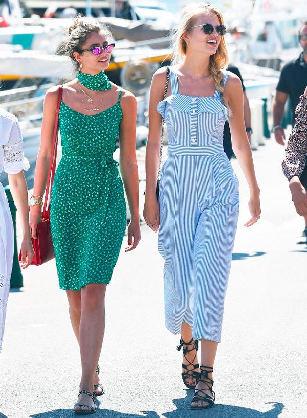 Taylor Hill e Romee Strijd