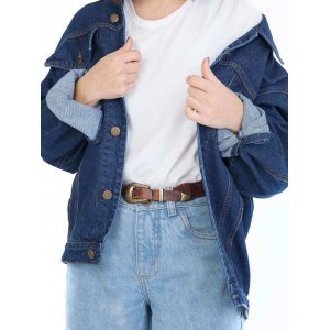 Jaqueta Jeans Oversized Classic