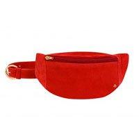 pochete vermelha