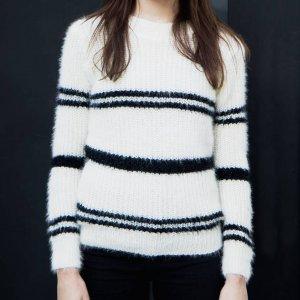 Suéter Felpudo Branco Com Brilho