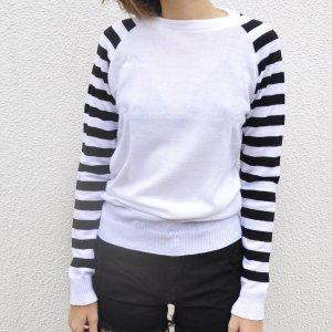 Suéter Mangas Listradas