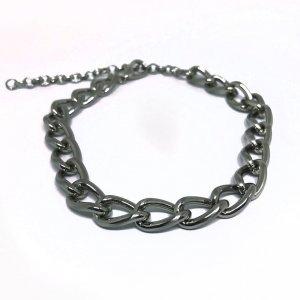 Choker Chain Silver Tamanho: U - Cor: Prata