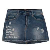 Minissaia Jeans Tachas Change Your Mind