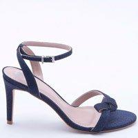 Sandália Glitter Azul