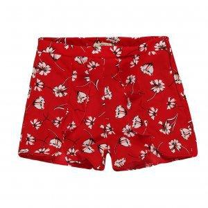 Shorts Curto Babado Floral
