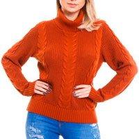 tricot laranja