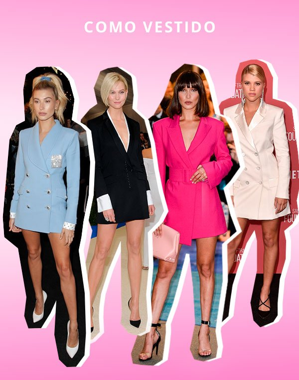 As Maneiras Prediletas Das Celebs e Fashion Girls De Usar Blazer