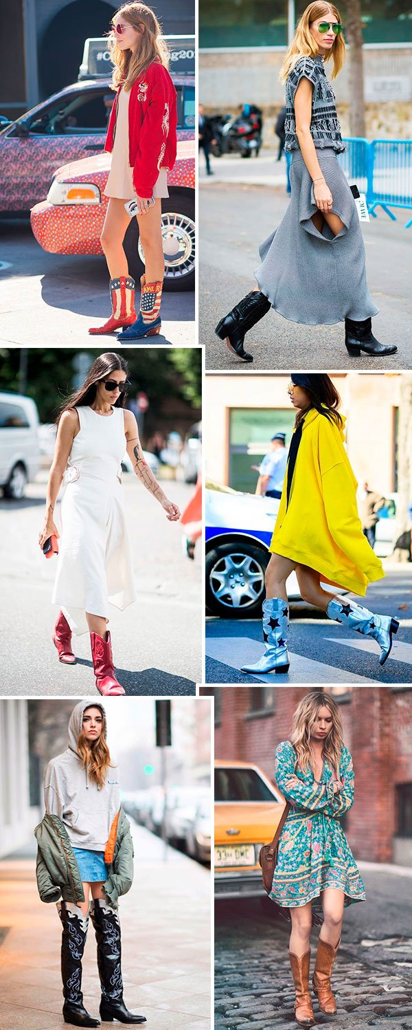 Trendy Now: Western Boots