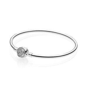 Bracelete Pandora Rígido - A Bela E A Fera