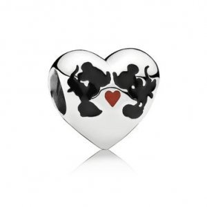 Charm Beijo Mickey & Minnie -