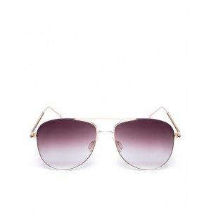 Óculos De Sol Aviador Arredondado