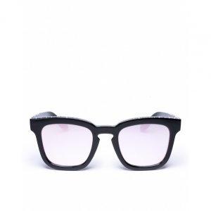Óculos De Sol D-Frame Black Sparkle