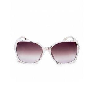 Óculos De Sol Retangular Degradê