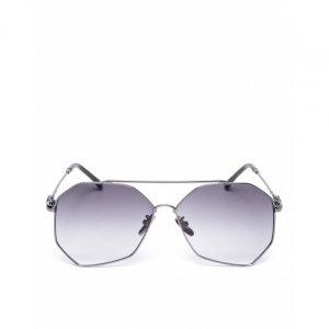 Óculos De Sol Retangular Geometric
