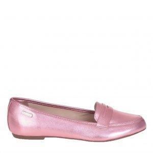 Loafer Metalizado Rosa