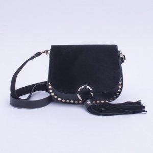 Bolsa Shoulder Bag Studs Preta - M