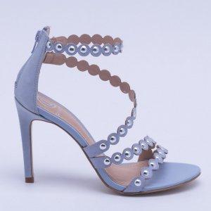 Sandália Studs Azul Off