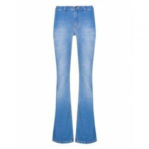 Calça Jeans Flare Emana Fenda