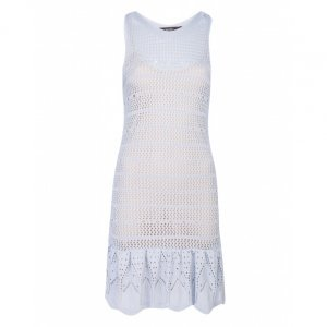 Vestido Curto Crochet