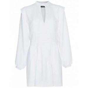 Vestido Curto De Crepe