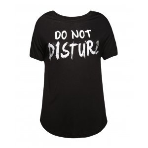 Camiseta Feminina Mullet Do Not Disturb