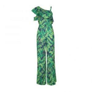 Macacão Silky Texture Green - 42