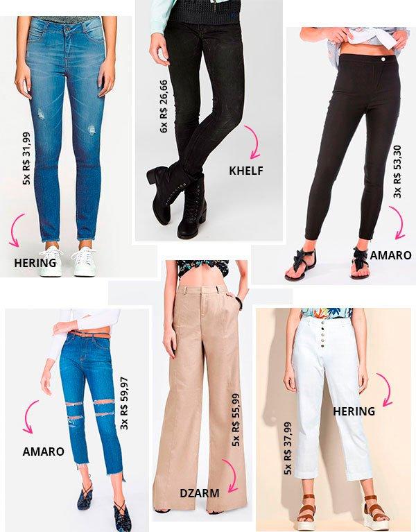 O guia de como usar - e onde encontrar - calça de cintura alta