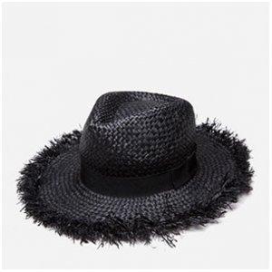 Chapéu De Palha Com Faixa