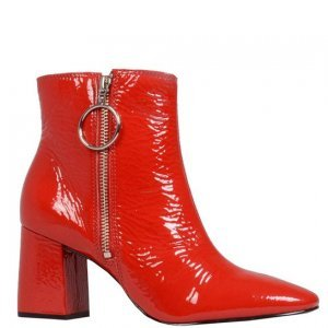 Ankle Boot Vermelha I18