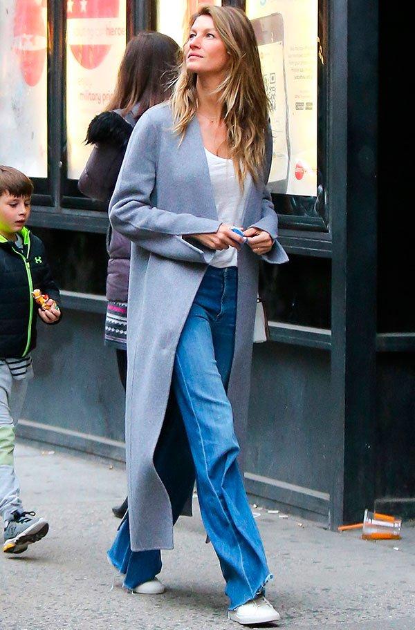 O jeans favorito da Gisele