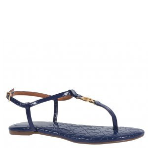 Sandália Rasteira Azul V18
