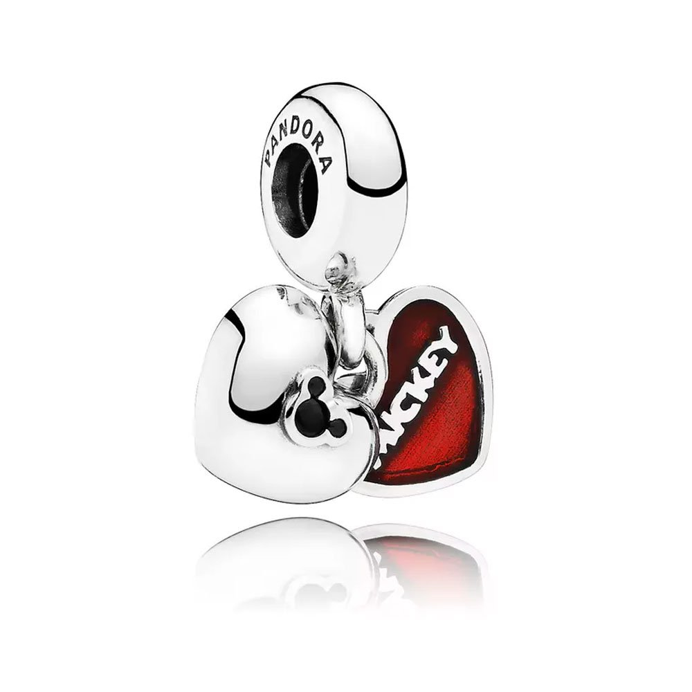 Charm Pendente Mickey & Minnie -