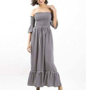 Vestido Ciganinha Vichy