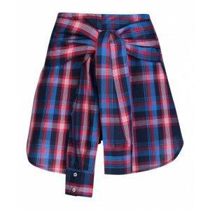 Shorts Listrado Com Amarração