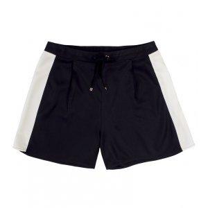 Shorts Feminino Em Tecido De Viscose Com Bolsos