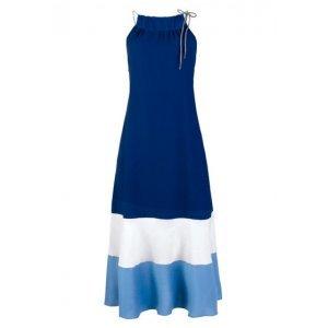 Vestido Midi Halter Neck Em Tecido De Viscose Hering For You