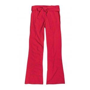 Calça Pantalona Em Tecido De Viscose Com Amarração Dzarm