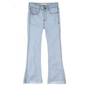 Calça Jeans Na Base Veneza Com Lavação Clara Dzarm