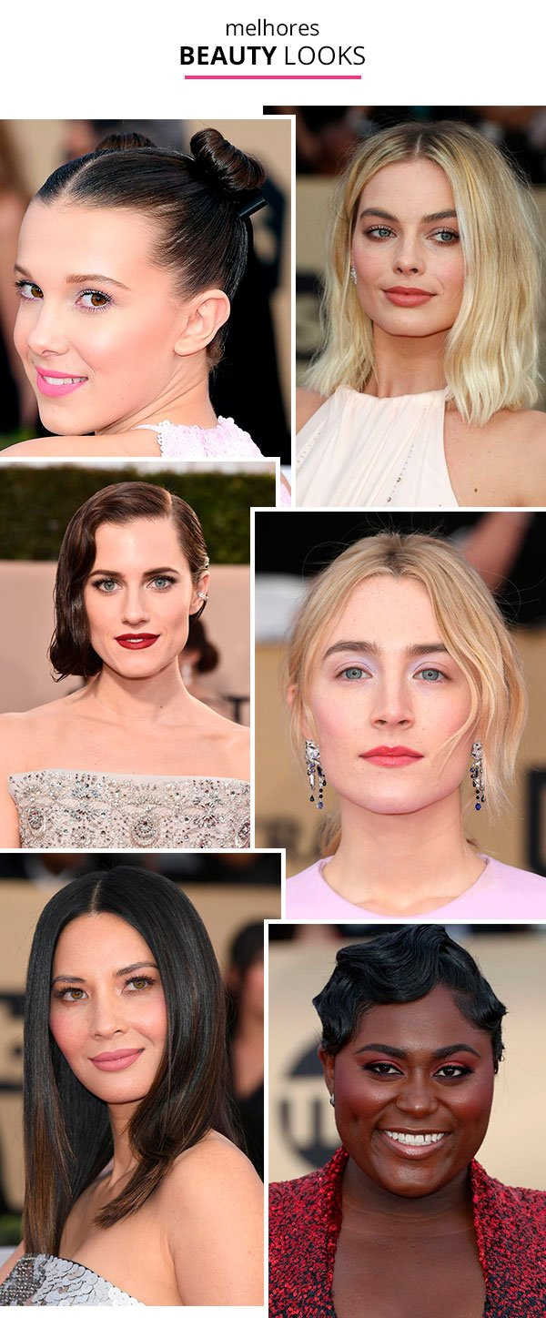 Os Melhores Looks e Makes do SAG Awards