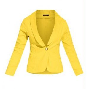 Blazer Clássico Amarelo
